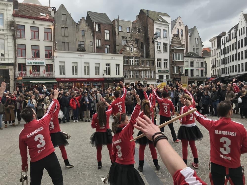 Optreden met Alarmfase3 in Antwerpen